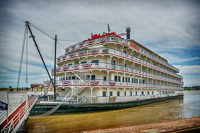 Photograph - Queen Of The Mississippi At St Louis Mo 7r2_dsc9388_06182017 by Greg Kluempers