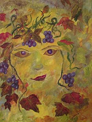 Painting - Queen Of The Vineyard by Dave Farrow