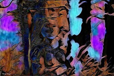 Digital Art - Queen Of Thorns by Wesley Nesbitt