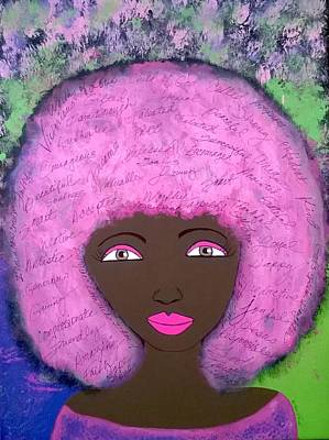 Painting - Positive Vibe by Yvonne Carson