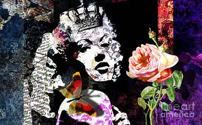 Queen Art Print by Ramneek Narang