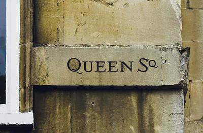 Photograph - Queen Square Carved In The Stone C by Jacek Wojnarowski