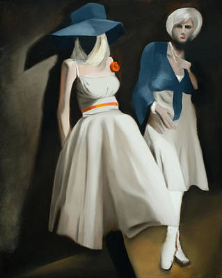 Painting - Tommervik Queen St. Mannequins Art Print by Tommervik