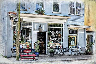 Photograph - Queen Street Grocery Charleston South Carolina by Melissa Bittinger