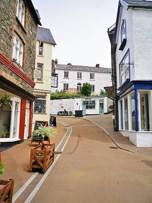 Photograph - Queen Street Lynton by Richard Brookes