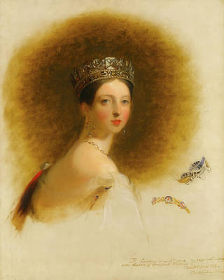 Crown Victoria Painting - Queen Victoria                                   by Mountain Dreams