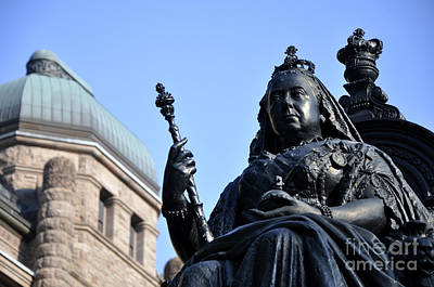 Photograph - Queen Victoria by Andrew Dinh
