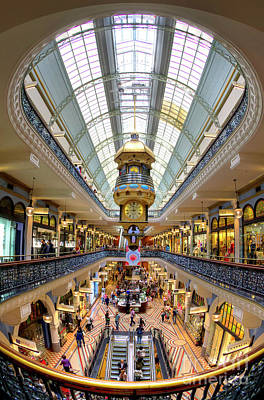 Photograph - Queen Victoria Building - Sydney - Australia by Bryan Freeman