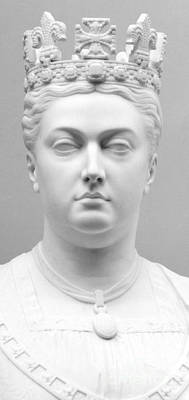 Sculpture - Queen Victoria, Circa 1874  by Mary Grant