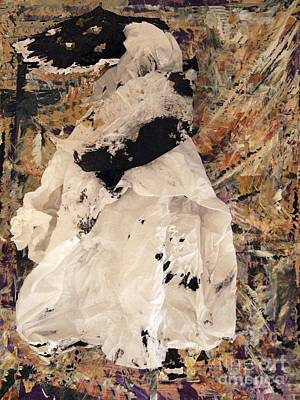 Mixed Media - Queen Victoria Perhaps by Nancy Kane Chapman