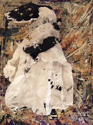 Mixed Media - Queen Victoria Perhaps by Nancy Kane Chapman