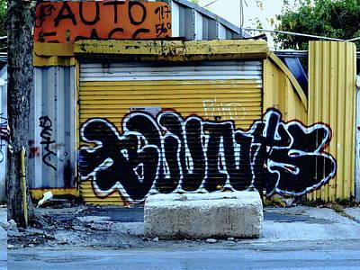 Photograph - Queens Graffiti 2017 by Frank Romeo