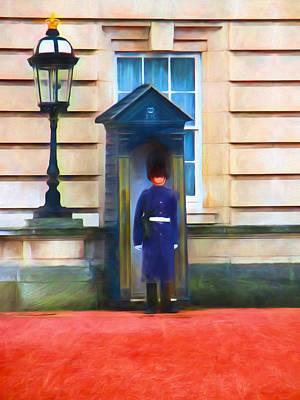 Queens Guard Art Print by Sharon Lisa Clarke