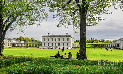 Photograph - Queens House And Greenwich Park England by Lexa Harpell