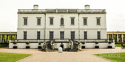 Royal Naval College Photograph - Queen's House Greenwich England by Lexa Harpell