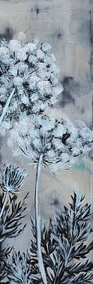 Painting - Queen's Lace 2 by Holly Donohoe