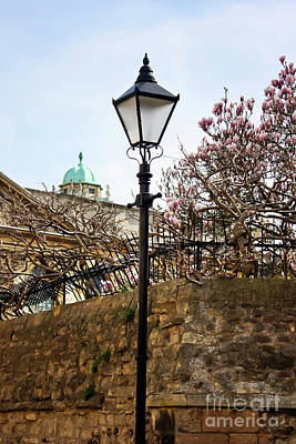 Photograph - Queen's Lane And The Sheldonian Theatre Oxford by Terri Waters