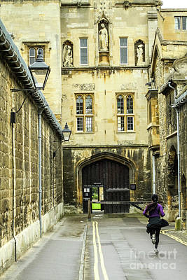 Photograph - Queen's Ln, Oxford, England, Uk by Tom Rydel