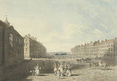 Drawing - Queen's Square by Edward Dayes