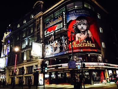 Le Miserables Photograph - Queens Theatre, London by Melissa Stephenson