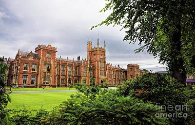 Photograph - Queens University In Belfast Ireland by Vizual Studio