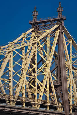 Photograph - Queensboro Ed Koch Bridge by Susan Candelario