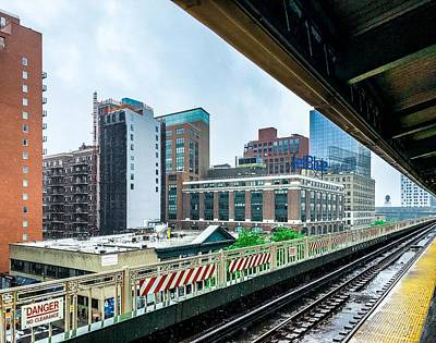 Photograph - Queensboro Plaza Platform by Cate Franklyn