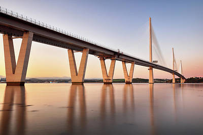 Photograph - Queensferry Crossing by Grant Glendinning