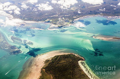 Photograph - Queensland Island Bay Landscape by Jorgo Photography - Wall Art Gallery