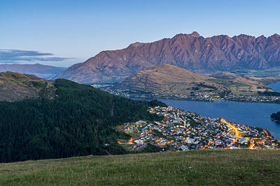 Remarkable Photograph - Queenstown At Dusk by James Udall