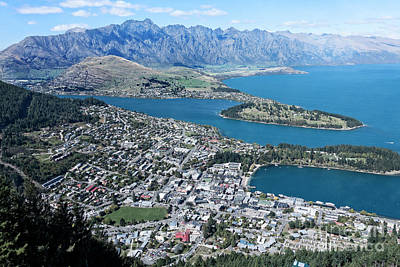 Photograph - Queenstown by Scott Kemper
