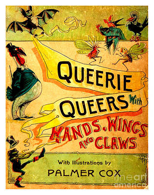 Painting - Queerie Queers With Hands Wings And Claws 1887 by Peter Gumaer Ogden Collection