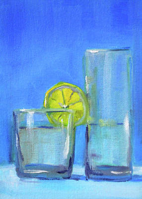 Art Print featuring the painting Quench by Nancy Merkle