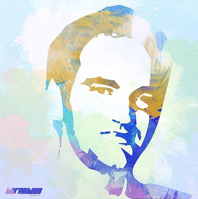 Quentin Tarantino Print by Naxart Studio