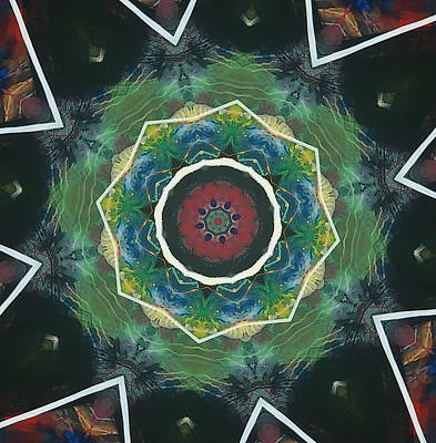 Complicated Painting - Question Mandala by Anna Lis