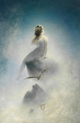 Painting - Question To The Stars by Karl Wilhelm Diefenbach