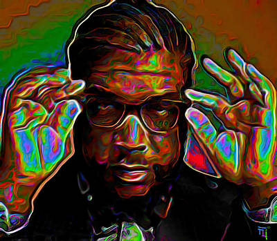 Questlove Original by  Fli Art