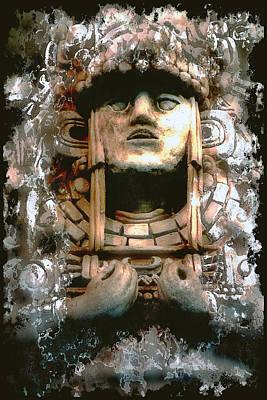 Central America Mixed Media - Quetzalcoatl by Daniel Hagerman