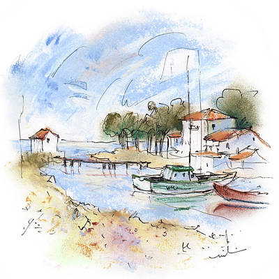 Painting - Quiberon Peninsula 04 by Miki De Goodaboom