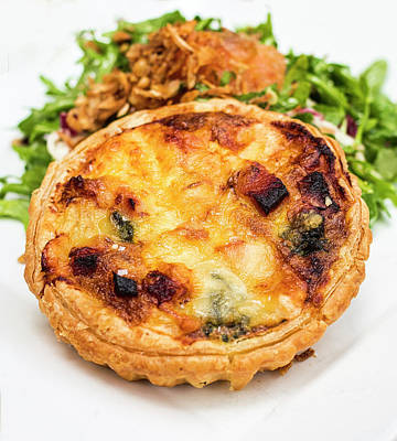 Photograph - Quiche Lorraine by David Kay