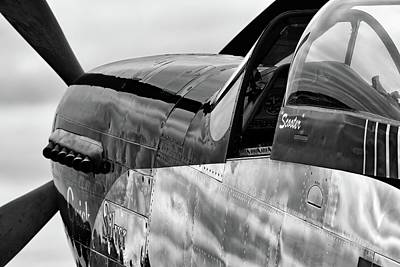 Photograph - Quick Silver And Gray Skies - 2018 Christopher Buff, Www.aviationbuff.com by Chris Buff