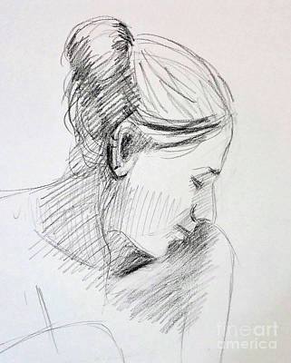 Drawing - Quick Study by Barbara Oertli