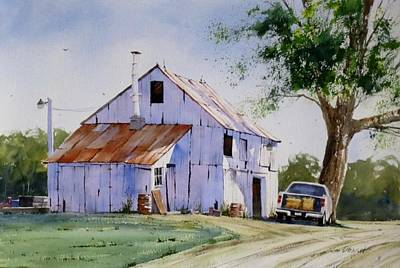 Oberst Painting - Quiet Afternoon by Jim Oberst