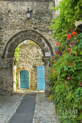 French Village Photograph - Quiet Alley by Brenda Tharp