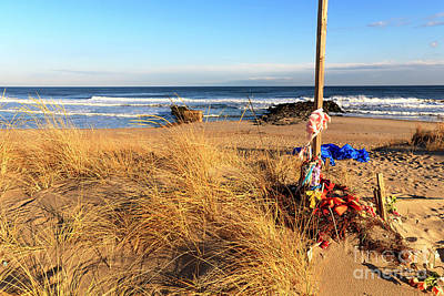 Photograph - Quiet At Asbury Park Beach by John Rizzuto