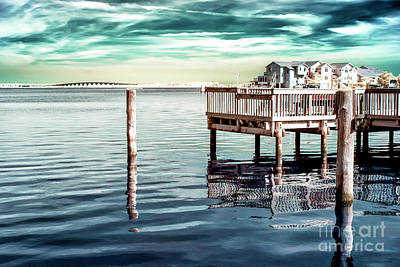 Photograph - Quiet Bay Infrared by John Rizzuto