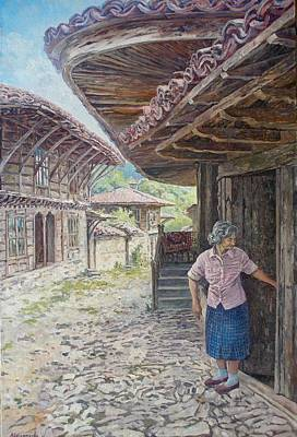 Bulgaria Painting - Quiet Breathing by Andrey Soldatenko