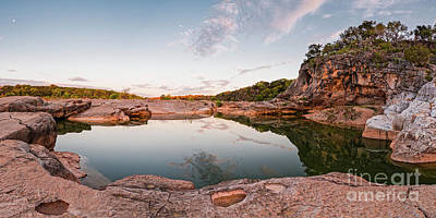 Photograph - Quiet Contemplation At Pedernales Falls State Park - Johnson City Texas Hill Country  by Silvio Ligutti
