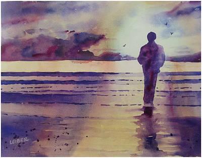 Quiet Contemplation Original by Donna Leiber
