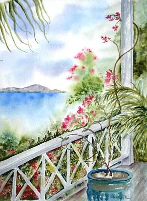 Painting - Quiet Corner by Diane Kirk